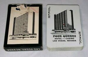 Four Queens Hotel & Casino,Las Vegas,Nevada,Playing Cards
