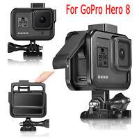 Aluminium metall käfig gehäuse shell case für gopro hero 8 black kamera zubehör