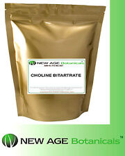 Choline Bitartrate 250g - Pure Pharma Grade 100%