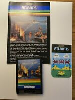 Intellivision Atlantis by Imagic 1982 Video Game - Game and Manual