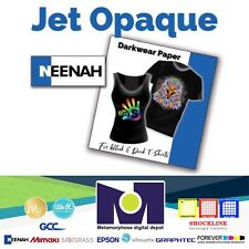 Jet Opaque Ii Ink Jet Transfer Paper For Dark Fabrics 50 Sh 85x11 By Neenah