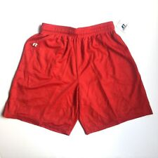 Russell Athletic Red Shorts Nylon Tricot Mesh Medium 659AFMK TRR New NWT