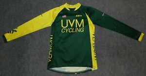 LOUIS GARNEAU MOUNTAIN BIKE JERSEY + UNIVERSITY VERMONT CYCLING TEAM sz S Jersey