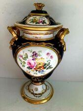 Antique porcelain URN ENGLAND