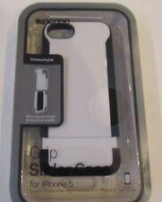 NEW sealed Incase Enhanced Grip Slider Case for Apple iPhone 5 White Black