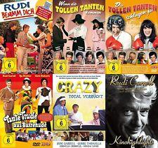 AÑOS 70 6 PELÍCULAS DE CULTO Rudi CARRELL Mega Colección Alborotado Tías DVD