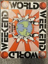 Rave Flyer Weekend World 5th Aug 1989 Rare