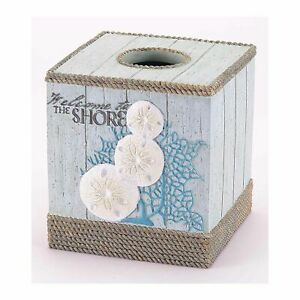 New Ethnic Style Flax Tissue Napkin Box Cover Holder Elegant Chinese Embroidery