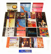 Phil Manzanera - 15 Mini LP CD Japan + 3 Promo-Boxes COMPLETE & RARE Roxy Music!