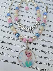 Frozen Elsa Gift set Necklace Bracelets, Personalised Jewellery for Children!