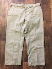 Wrangler Workwear Khaki Pants Size 42x30 Cotton Polyester