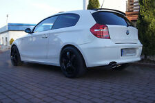 BMW 1 E81/E87 H-Style ROOF SPOILER TUNING