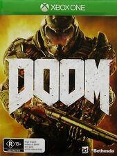 DOOM  Xbox One Game XB1 ***Brand New/Sealed & AUS Stock***