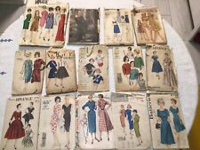 New ListingLot 12 Vintage Sewing Patterns, See Description Mix Of Cut And Uncut