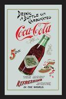 Coca Cola Flasche Spiegel 30 cm Wandspiegel Bar Kneipe Restaurant ..
