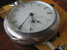 SALE!!American Watch Co. large-59,7mm and heavy-175g KW KS pocket watch,60y/XIXc