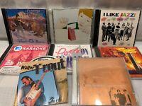 7 CD Lot CLINTON GREGORY I Like Jazz HOT CHIP Fold Zandura KARAOKE Pop Hits