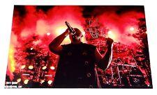 DISTURBED SINGER DAVID DRAIMAN SIGNED 8X12 AND SETLIST!!!