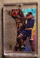 Kobe Bryant SKYBOX E-X 1997-98 ACETATE HOLOFOIL WITH CASE PREMIUM INSERT#8 Rare