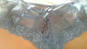 Victoria's Secret called Cheeky in turquoise size small lacey all labelled new