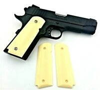 1911 Colt & Clones FITS ALL FULL SIZE Grips Faux Aged Ivory GG1911AIV XXX