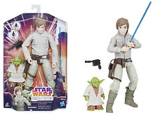 "Star Wars Forces of Destiny ~ 11"" LUKE SKYWALKER & YODA ACTION FIGURE/DOLL SET"