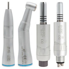 Dental Inner Spray Low Speed Handpiece Straight Contra Angle Air Motor 24holes