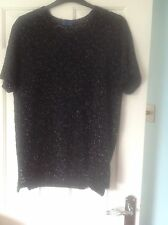 "Ladies Glitter top from G.T. collection size 3 44"" chest in very good condiion"