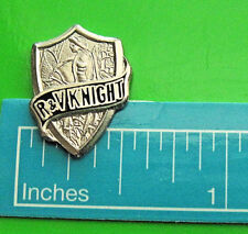 ROOT & VANDERVOORT R+V KNIGHT ENGINEERING CO.- hat pin, lapel pin GIFT BOXED