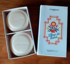 CLAUS PORTO-CONFIANÇA | Flores da Beira | 2 SOAPS -100g/3.5oz -Portugal-soap box