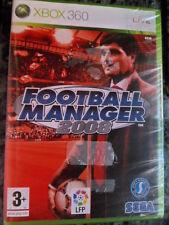 Football Manager 2008 Nuevo Xbox 360 Live fútbol soccer en castellano*