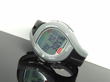 MIO Motiva Petite Heart Rate Calorie Monitor Black/Gray Band Women's Watch