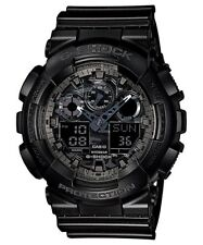 Casio G-Shock Analogue/Digital Mens Camouflage Black Watch GA100CF-1A GA-100CF-1