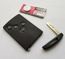 RENAULT 4 BUTTON REMOTE KEY CARD FOB   MEGANE SCENIC LAGUNA KOLEOS PCF7952  @17
