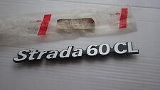 NOS Genuine Fiat Strada 60CL Tailgate Badge