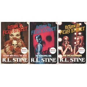 Return to Fear Street 3 Books Set By R. L. Stine - Young Adult - Paperback