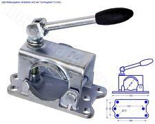 Guss Stützradhalter Klemmhalter mit Gelenkknebel für 48mm Stützrad Aufnahme Guss