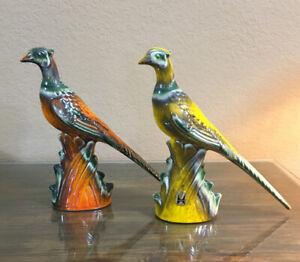 VTG ROYAL HAEGER PHEASANTS GAME BIRDS PAIR