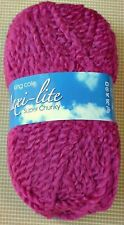 King Cole Maxi Lite Super Chunky Knitting Yarn 24 Wool 946 Cerise 6 X 100g