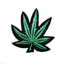 Reggae Bob Marley Cuba Punk Rock Biker Marijuana Ganja Weed Leaf Iron on Patch