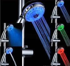 Multi Function LED Hand Shower Sprayer Temperature Control Light 2033