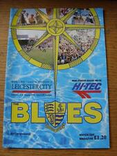 31/08/1991 Southend United v Leicester City   (Item has no apparent faults).