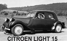 CITROEN LIGHT 15 Set Tappeti Trazione Avant BIG 15-MUCCHIO profondo, Lattice Sostenuto