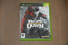 JEU XBOX - Beat Down, fists of vengeance - VF /  complet