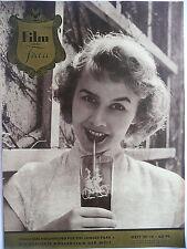Film und Frau, Nr. 20/IV, v. 24.09.1952, Sammlerexemplar, 32 S. wie neu