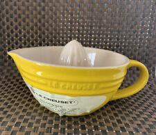 Le Creuset Citrus Juicer - Yellow NEW