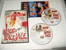 Blood And Black Lace Mario Bava dvd 2005 -2 dvd NTSC Region 0 no booklet