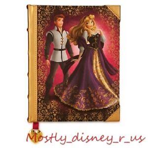 NewDisney Store Aurora Prince Phillip Fairytale Designer Journal Notebook Book
