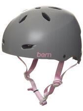 Bern Brighton MIPS Eps Equipo Para Mujer Bicicleta Casco Satén Gris S M L