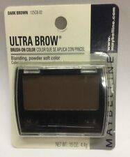 Maybelline Ultra Brow Brush-On Color ( Dark Brown ) New Original Formula Carded.